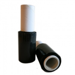 Black Mini Stretch Film Roll