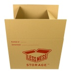 Large Less Mess Cardboard Box 45x60 cm, height: 45 cm
