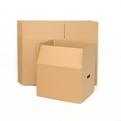 Small Brown Cardboard Box 40x35 cm, height: 30 cm