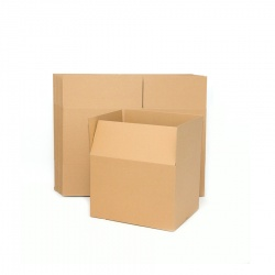 Mini Brown Cardboard Box 35x25 cm, height: 20 cm